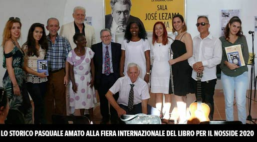 Pasquale Amato alla Fiera del Libro di Cuba