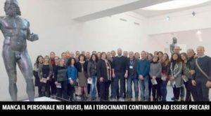 Tirocinanti al Museo Archeologico di Reggio Calabria