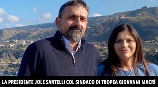 Giovanni Macrì e Jole Santelli