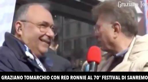 Graziano Tomarchio e Red Ronnie