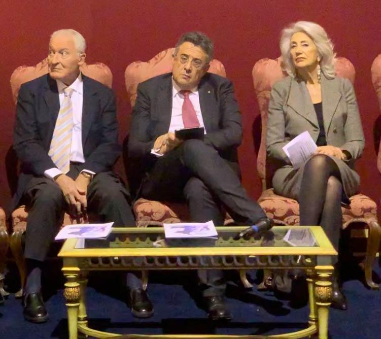 Ernesto Preatoni, Roberto Sergio e Rosanna D'Antona