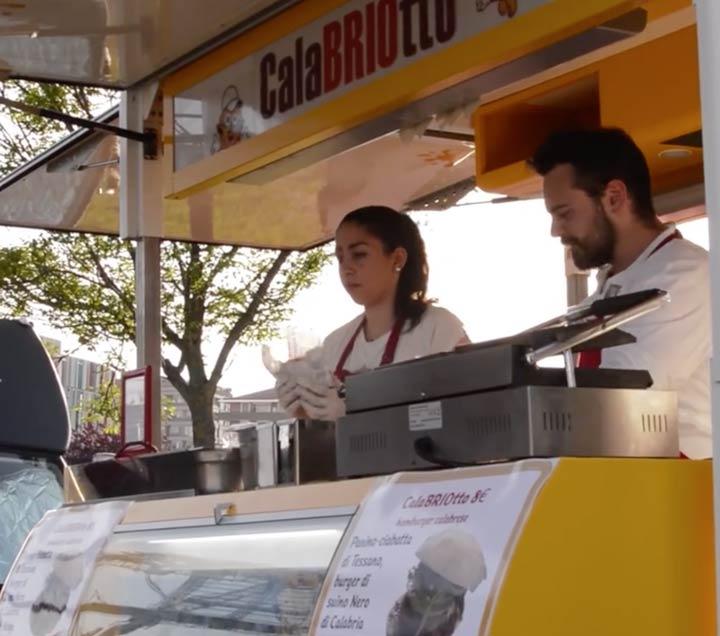 Calabriotto l'hamburger di Calabria