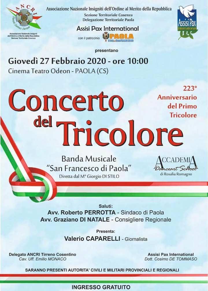 concerto del tricolore