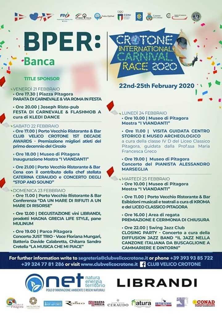BPER: Crotone International Carnival Race