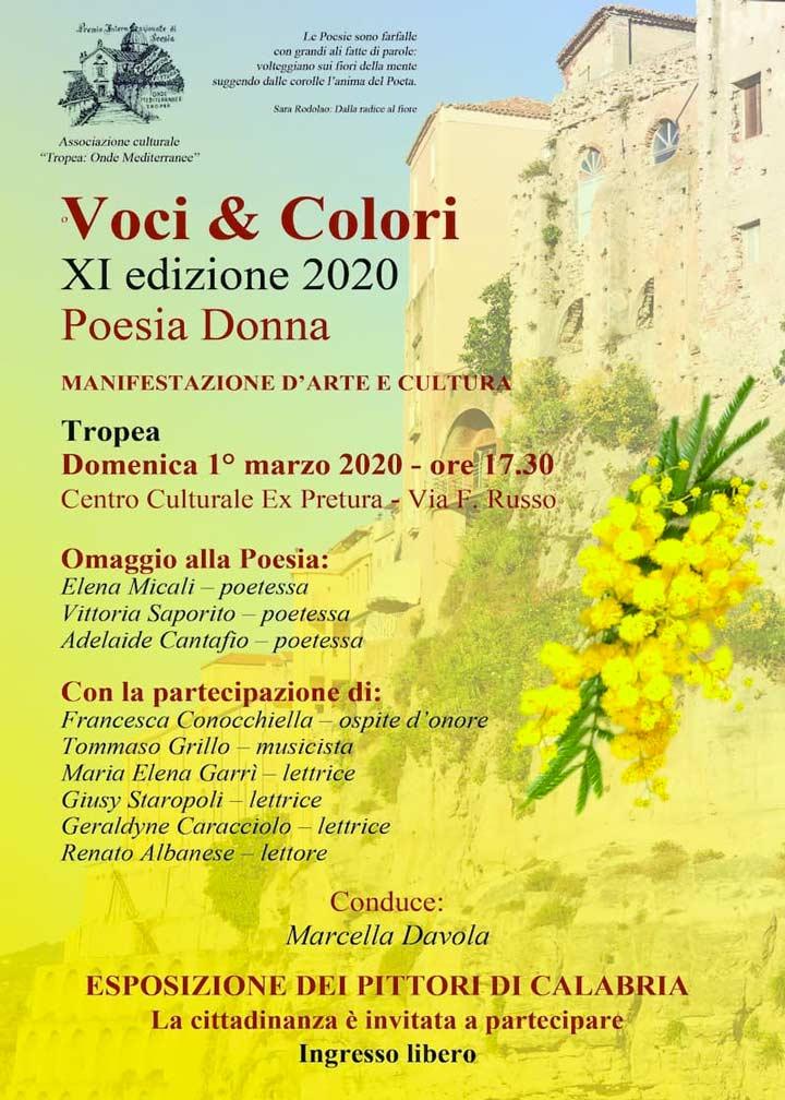Voci & Colori - Poesia Donna