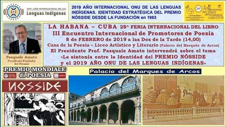 Il Premio Nosside a Cuba