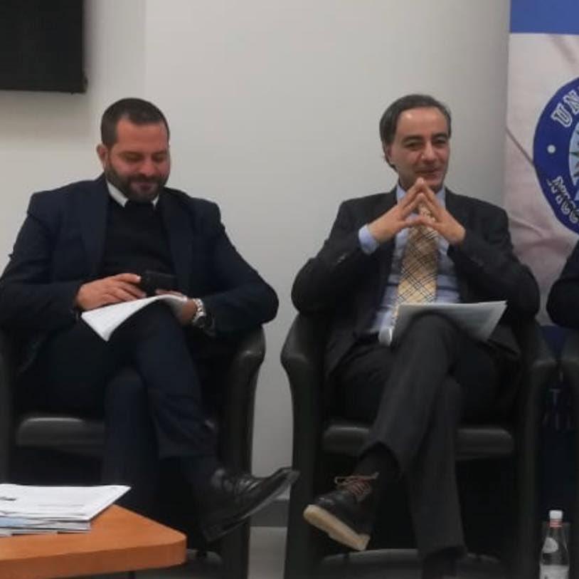 Frank Mario Santacroce e Salvatore Rocca