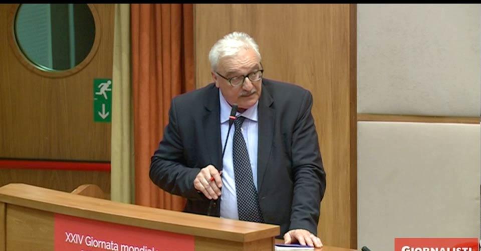 Demetrio Crucitti, direttore della Sede Rai di Cosenza