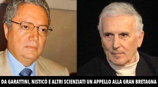 Pino Nisticò e Silvio Garattini