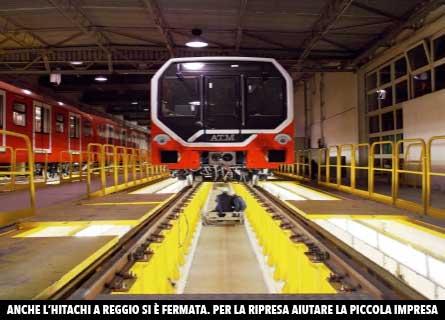 Hitachi Rail Italia a Reggio Calabria