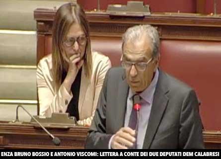 Enza Bruno Bossio e Antonio Viscomi