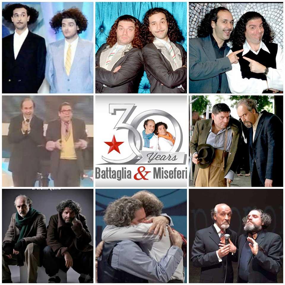 Giacomo Battaglia e Gigi Miseferi