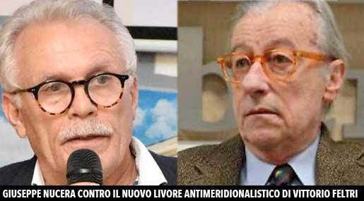 Vittorio Feltri, critiche il modello meridionale: è polemica
