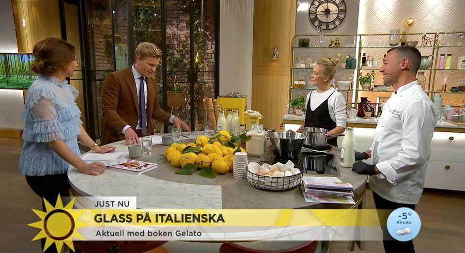 Angelo e Hanna Scarfò su Tv4