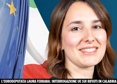 L'eurodeputata Laura Ferrara