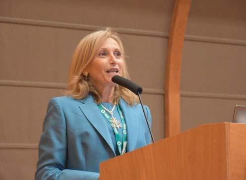 La prof.ssa Rosa Daniela Grembiale