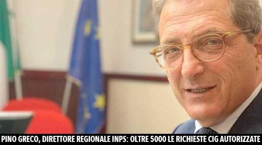 Pino Greco, direttore regionale Inps Calabria