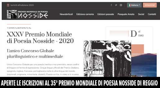 Premio Nosside 2020