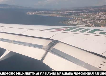 Alitalia, n volo verso Reggio
