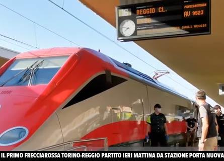 Frecciarossa a Reggio Calabria