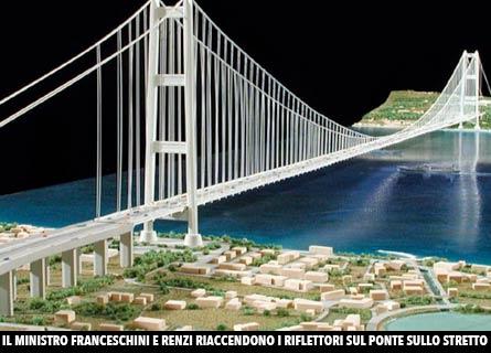 Il Ponte sullo STretto come potrebbe essere