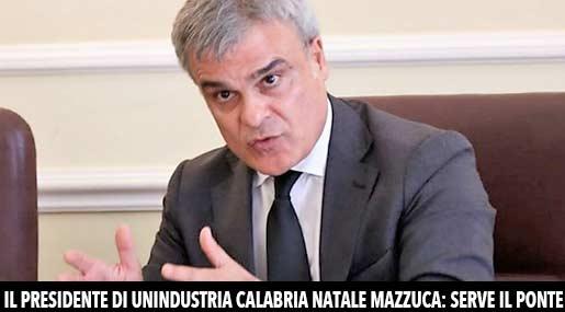 Natale Mazzuca, presidente di Unindustria Calabria