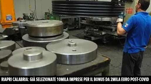 Lavoro in Calabria