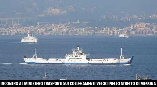 Traghetti nello Stretto di Messina