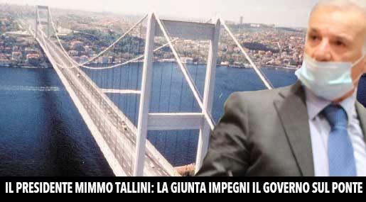 Il presidente Mimmo Tallini