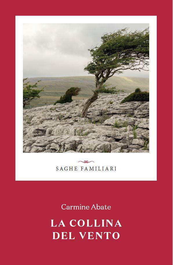 La copertina de La collina del vento, romanzo di Carmine Abate