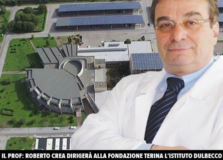 Il prof. Roberto Crea