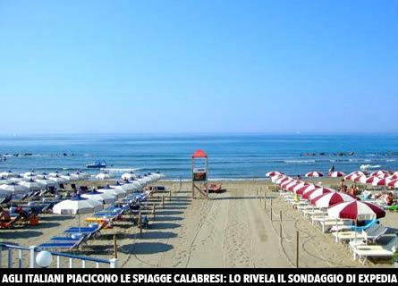 Le spiagge calabresi piacciono agli italiani
