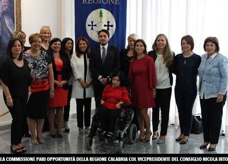 COmmissione Pari Opportunità Regione Calabria