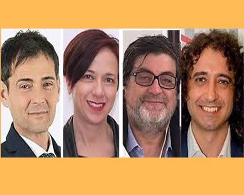 I parlamentari M5S Sapia, granato, D'Ippolito e Parentela