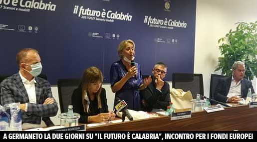 Il futuro è Calabria: incontro a Germaneto