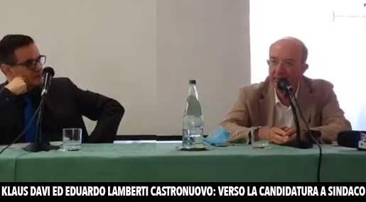 Klaus Davi ed Eduardo Lamberti Castronuovo