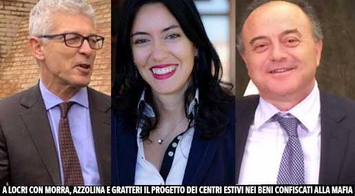 Morra Azzolina e Gratteri