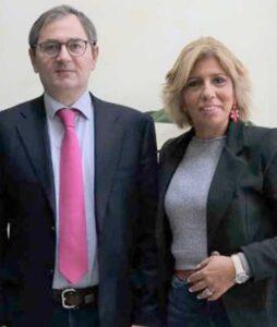 Roberto Di Bella e Bruna Siviglia