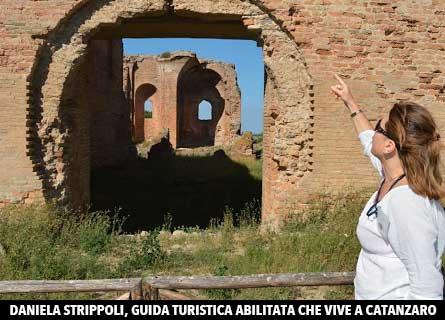 Daniela Strippoli, guida turistica in Calabria