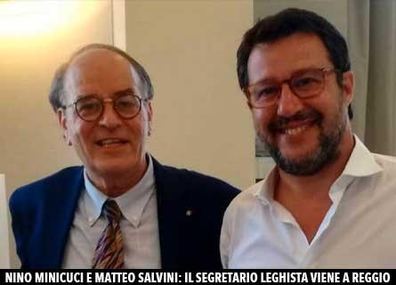 Nino Minicuci e Matteo Salvini