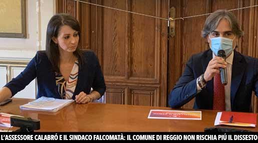 Irene Calabrò e Giuseppe Falcomatà