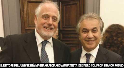 Giovambattista De Sarro e Franco Romeo