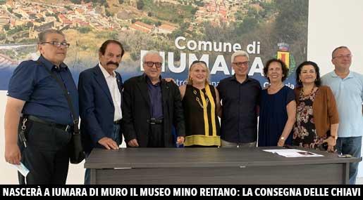 Fiumara di Muro: la consegna delle chiavi del Museo Mino Reitano