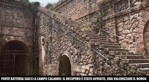 Forte Batteria Siacci Campo Calabro