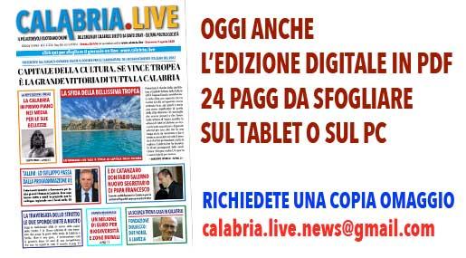 Calabria.Live edizione digitale 2 agosto