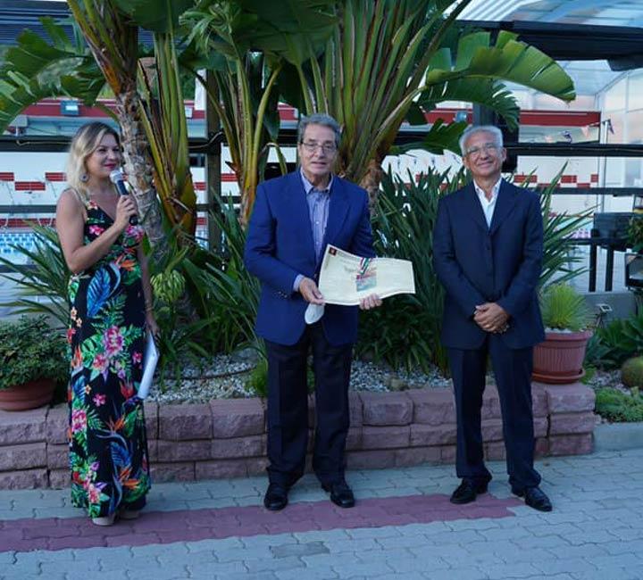 Tonino Raffa premiato a Reggio Day