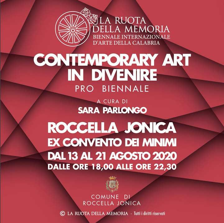 """""""Contemporary Art in Divenire"""