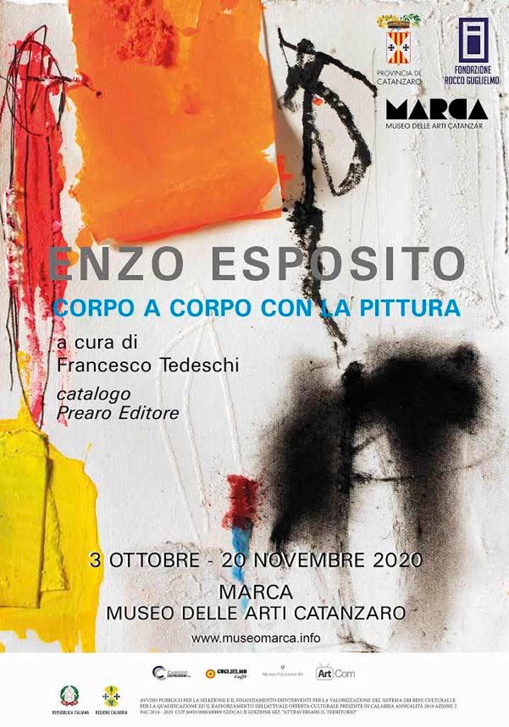 Corpo a Corpo con la pittura di Enzo Esposito