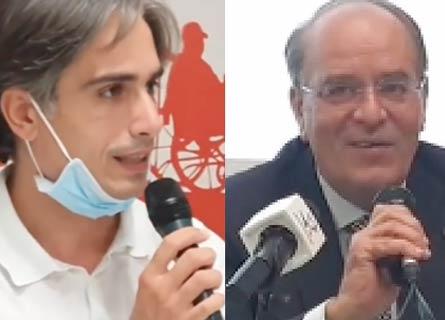 Giuseppe Falcomatà e Nino Minicuci