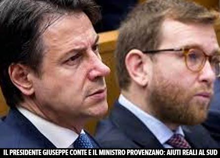 Giuseppe Conte e Peppe Provenzano